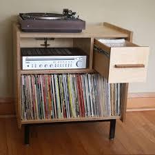 record album storage furniture. the princeton small audio credenza with vinyl lp and component storage by brokenpressfurniture on etsy record album furniture