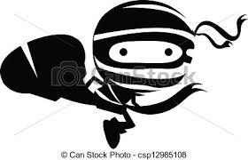 ninja clipart black and white. Interesting And Ninja Clipart Ninga Tattoo Vector Search Illustration Free Download On Clipart Black And White