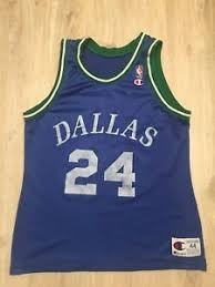 Details About Vtg Champion Jimmy Jackson Jersey Dallas Mavericks Nba 24 Vintage 90s Size 44