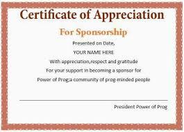 Appreciation Certificates Wording Custom 48 Best Sample Certificate Of Appreciation Wording Simple Best