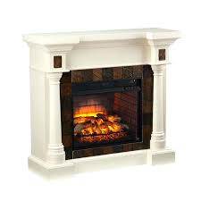 amish infrared fireplace heaters blvd ivory faux slate convertible beige off insert inspired