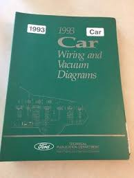 1994 ford car mustang thunderbird crown victoria town car wiring 1993 ford mark 8 viil thunderbird mustang town car wiring diagram service manual