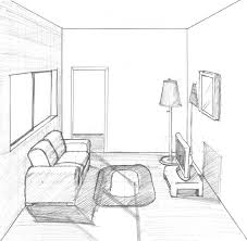 One Point Perspective Living Room Centerfieldbar Com