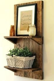 bath wooden bathroom shelves over toilet shelf with hooks