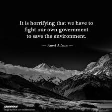 Ansel Adams Quotes 92 Stunning Truth Quote Government Environment Ansel Adams Greenpeace Cub