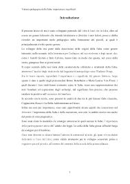 Valenza pedagogica della fiaba: importanza e significati ...