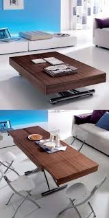 adjustable height coffee table converts
