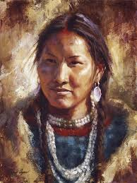 beatury and grace ute native american art james ayers studios by jamesayers