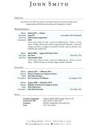 Good Resume Examples For First Job New Resume Template For Students First Job Medicinabg