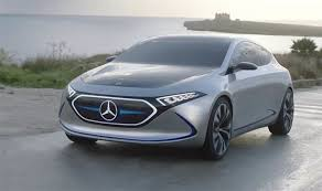 mercedes benz eqa all electric concept car revealed in a new trailer