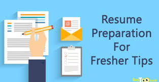 Resume Preparation Classy Resume Preparation For Fresher Tips