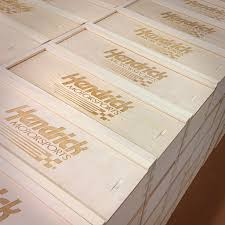 Corporate Gifts - Hendrick Motorsports Custom Wine Box