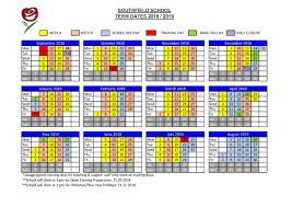 Southfield School » Term Dates