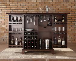 Glass Home Bar Furniture Roselawnlutheran - Home liquor bar designs
