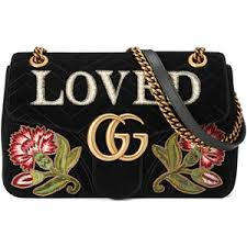 gucci bag. gucci gg marmont medium velvet bag