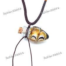 vials for ashes glass heart oil urn bottle cork pendant vial necklace adjustable pet vials for ashes necklace