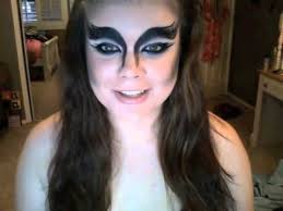 my misschievous the crow inspired makeup