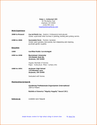High School Student Cover Letter Elegant How To Make A Resume For