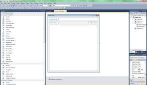 Visual Studio Design Tools C How To Center Form In Visual Studio Design View