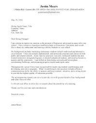 Teacher Assistant Cover Letter Samples Cover Letter For Teaching Assistant Job With No Experience