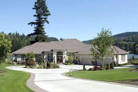 contemporary ranch homes ranch house plan front of home house planore contemporary ranch style