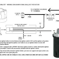 wiring diagram for mallory unilite distributor wiring diagram sch