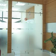 modern slider brio open rail glass