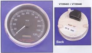 speedometers tachometers mounting for harley davidson vdo electronic speedometer