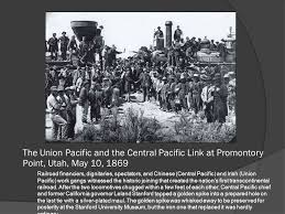 「Utah, California Governor Leland Stanford and golden spike」の画像検索結果