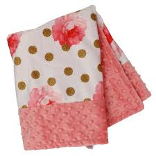 love bug baby bedding rose blanket