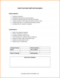 Generic Application Form Template Business