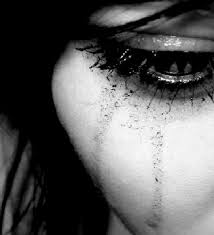 Image result for crying with mascara