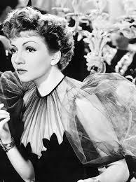 Matinée Moustache — deforest: Claudette Colbert in Midnight (1939)