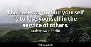 Gandhi Quotes Beauteous The Best Way To Find Yourself Is To Lose Yourself In The Service Of