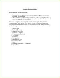 Example Simple Business Plan Apa Format Template Sponsorship Letter