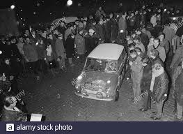 Ralley Monte Carlo, No. 4 Rosemarie Smith and Valerie Donleo Date: January  15, 1966 Keywords: Rallies Stock Photo - Alamy