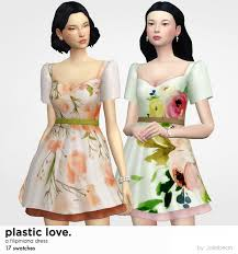 Plastic Love filipiniana dress by Joliebean | Joliebean on Patreon | Sims 4  dresses, Filipiniana dress, Sims 4 clothing