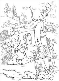 Small Picture Coloring Pages Cat Coloring Pages Best Cat In The Hat Coloring