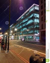google head office. Google Head Office In London UK, At Night U