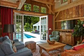 pool house interior.  House 1403PonusRidge_1471jpg And Pool House Interior I