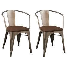 distressed metal furniture. Distressed Metal Dining Chairs Furniture