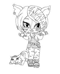 Small Picture Monster High Baby Coloring Pages AZ Coloring Pages Monster