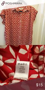 Ann Taylor Loft Short Sleeve Blouse Size M Women Size M 42