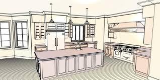 Kitchen Design Layout App U Shaped Kitchen Layout With Island Software Mac Open L