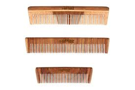 natural wooden combs