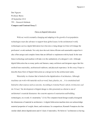 personal essay thesis statement examples com  compare and contrast development personal essay thesis statement examples 9 for a descriptive narrative example