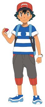 Pokemon - Ash Ketchum [Alola] Minecraft Skin