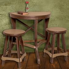 round bistro table and chairs