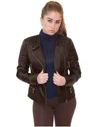 olivia miller olivia miller women zip up moto faux leather jacket com