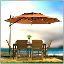offset patio umbrella with led lights patio umbrella with led lights cantilever home depot solar offset